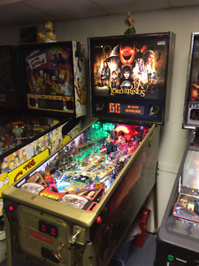 machine a boule pinball Lord of the rings