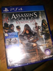 ASSASSINS CREED SYNDICATE PS4 NEW SEALED