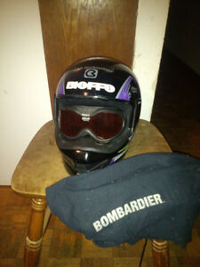 Casque Bombardier Large