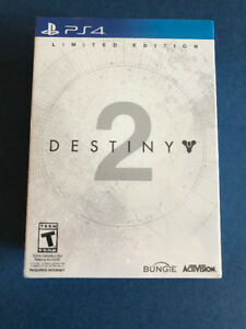 Destiny 2 Limited Edition for Playstation 4 PS4 BRAND NEW
