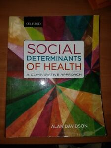 SOCIAL DETERMINANTS OF HEALTH  -Davidson