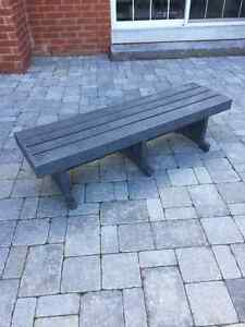 Recycled Plastic Lumber Bench**NEW $225 OBO**
