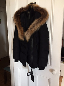 Manteau d'hiver MACKAGE ADALI - NEUF- femme / Taille S