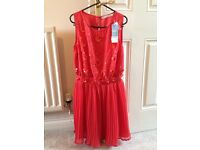 Brand new coral dress