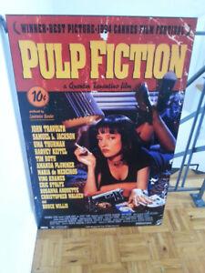 Poster laminé Pulp Fiction en parfait état