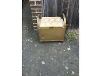 Lloyd Loom Style Storage Box with Handles