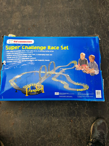 Complete race track for sale. ($35.00, Or best off.)