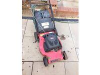 Petrol mower selling as spares or repairs LOOK!