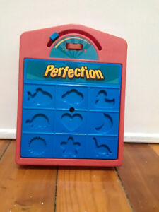 Perfection game by Hasbro - 9 piece
