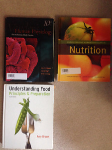 NEW Physiology, food and nutrition university textbooks