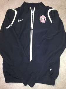 Nike Manchester United Sideline Warm Up Jacket - Adult Small