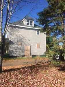4 year old siding and patio blocks
