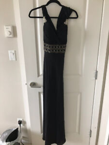 Prom dress  - hand-sewn crystal size 0-2