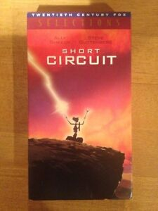 For Sale: Short Circuit VHS