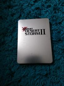 Xbox game Steel case collectors edition:Conflict desert storm 2