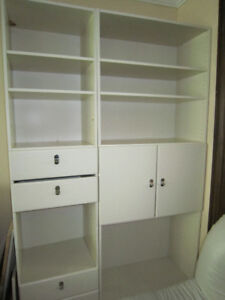 Wall Units:  White or Black Color