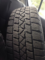 Selling 4 205/65/15 snow tires and rims