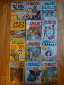 80's Cracked Magazines 12 good condition