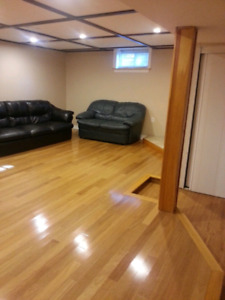 2 Bed basement near Scarborough town center