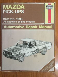 Mazda Pickups Haynes Manual