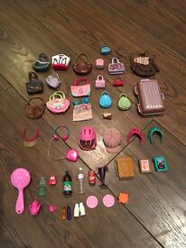 Barbie/sindy bags headwear and accessories