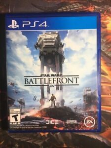 USED Starwars Battlefront PS4