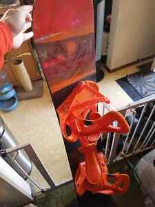 Burton Custom snowboard and Bindings
