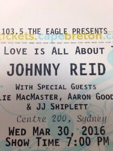 Johnny Reid tickets for sale