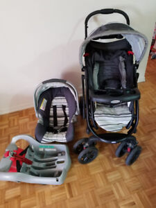 Graco stoller in black and gray color      Good condition
