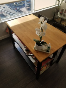 IKEA Kitchen Island with stools - perfect condition!