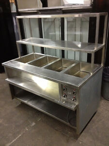 Steam table on Sale - DRY HEAT