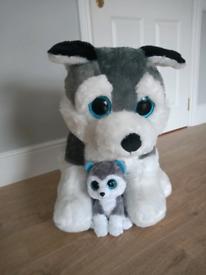 Large toy dog