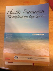 Health Promotion Throughout the Lifespan 8th Edition.