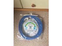 Cold inlet appliance hose (blue)