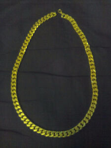 """mens gold 24"""" necklace"""