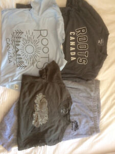 Mens Roots Clothing Lot