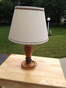 Handcrafted Hardwood Table Lamp