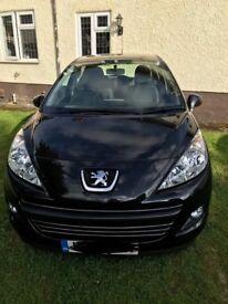 2012 Peugeot 207 1.6 Oxygo HDI, Diesel, Manual, 5 dr, Black