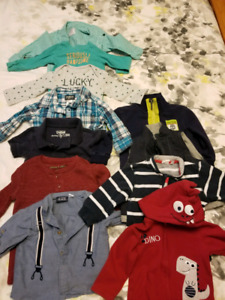 12 month boys shirts/sweaters