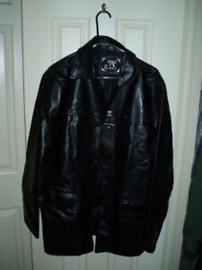 New EMPORIO Faux Leather Jackets /  Viking Men's Torrent Jacket