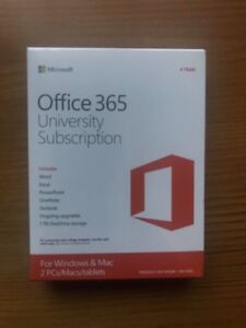 Office 365 University 4 Year Subscription (Untouched)