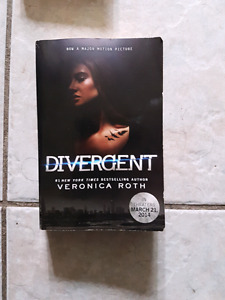 Divergent, Mockingbirdjay, and Night shift books