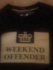 Weekend Offender jumper brand new