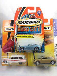 24 x Autos Miniatures 1/64 de Collection Matchbox