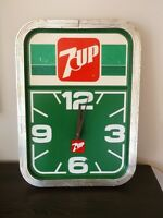 Vintage 7Up Electric Wall Clock