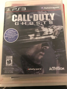 \!/ CALL OF DUTY (COD) GHOSTS \!/ PS3 (Playstation 3) Jeux \!/