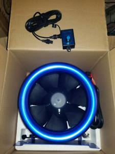 Hyper Fan 10 in. indoor growing, inline,cooling, carbon filter.