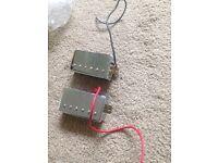 epiphone pick ups 57 neck and hot bridge