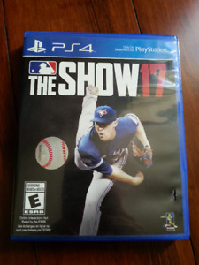 MLB The Show 2017 PS4 Video Game