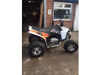 2012 plate quad bike £1650 road legal